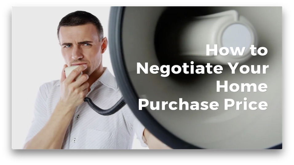 E64 How to Negotiate Your Home Purchase Price Podcast YouTube 956x 538 blog