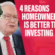 E102 4 Reasons Homeownership is Better than Investing youtube