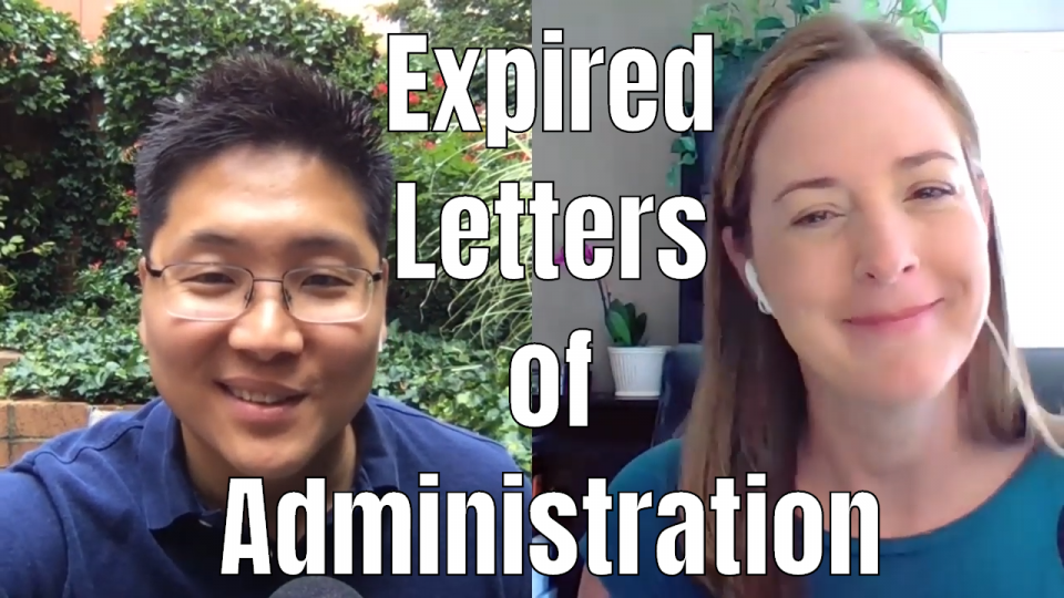 E118 Expired Letters of Administration in New York