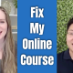 E139 Gillian Perkins Fixes My First Attempt at an Online Course
