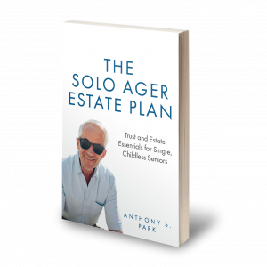 The Solo Ager Estate Plan Cover 3D
