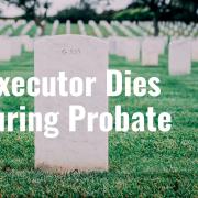 E217 Executor Dies During Probate