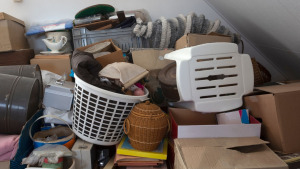 How to clean out house after death