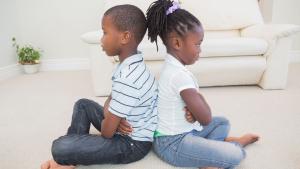 When siblings don't talk